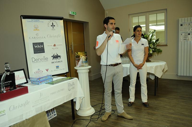dsc3136-remise des prix du 3è trophée - Luxury Jewelry's Cup 2013 - Golf Club du Lys Chantilly