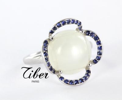 bijoux-tiber-bague-pierre-de-lune-saphirs-or-blanc-neige-de-saphirs